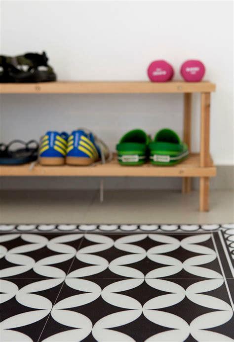 tapis vinyle carreaux de ciment pour d 233 corer le sol avec succ 232 s