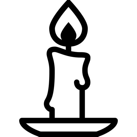 clipart black and white candle black and white clip images