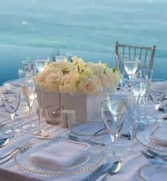Beach Wedding Table Centerpieces Ideas