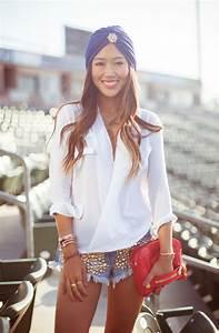10 Trendy Ideas How To Wear Denim Cut Off Shorts 2018 | FashionGum.com
