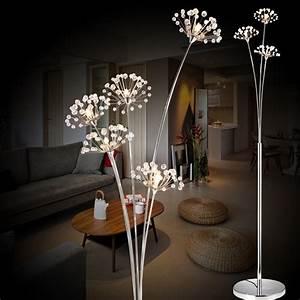 aliexpresscom buy new modern crystal floor lamp for With led flower floor lamp