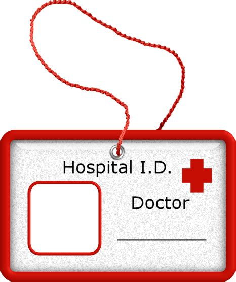 dr name tag template doctor id badge doctor doctor badges clip and album
