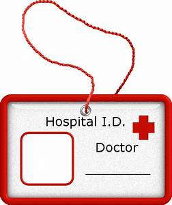 dr name tag template - doctor id badge doctor doctor pinterest badges clip