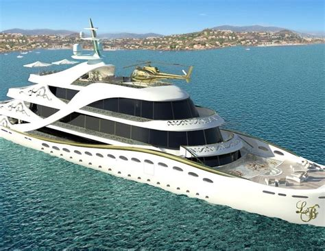 luxury yacht  helipad  private jet set luxury