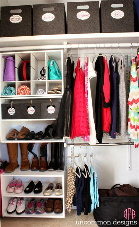 Open Closet Organization Ideas by 30 Closet Organization Ideas Best Diy Closet Organizers