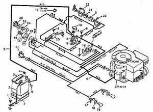 Craftsman Wiring Diagram Riding Lawn Mower