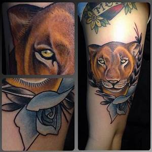 lioness tattoo | Tumblr