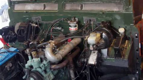Land Rover 2,25 Diesel First Start