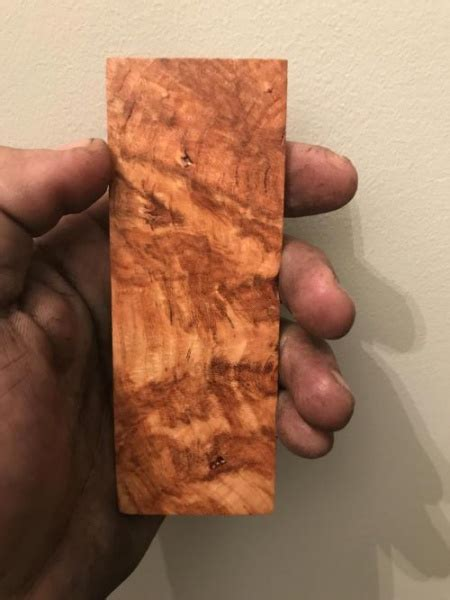 small projects   black cherry burl woodworking