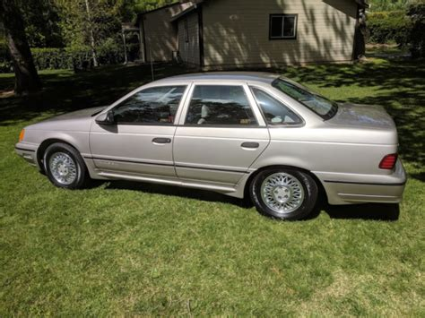 1989 Ford Taurus Sho, 45k Orig. Miles,one Owner,time