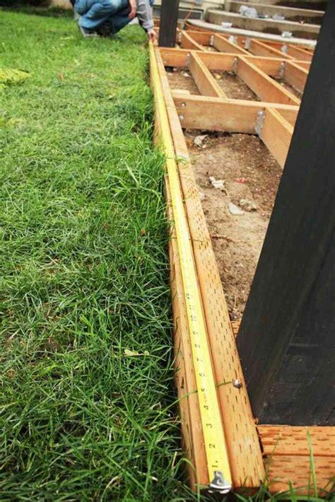 comment realiser une terrasse en bois comment construire une terrasse en bois guide pratique pour installer un plancher en bois