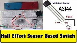 Hall Effect Sensor A3144 Magnetic Switch