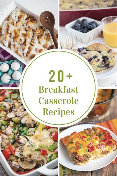 breakfast recipes breakfast casserole recipes the idea room
