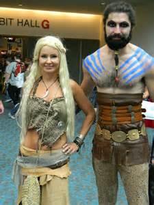 Khaleesi and Khal Drogo Costume