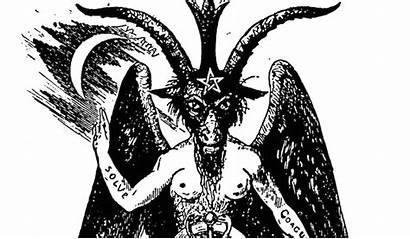 Satan Symbols Baphomet Occult Ouroboros Satanic Symbol
