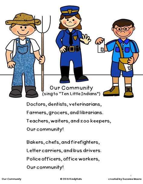 community helpers songs amp rhymes for educators 421 | 293c89f908f333154de73618a6ecc0dd