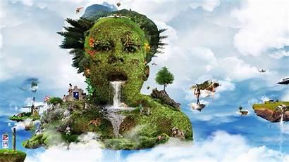 Whimsical Surreal 3d Desktop Nature Digital Backgrounds
