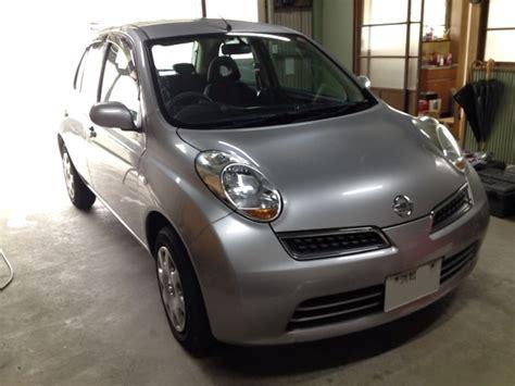 日産マーチ(k12)ヘッドライトhid化 カー用品ならまかせんしゃい。