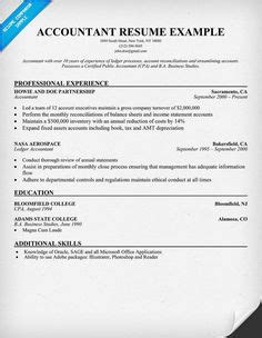Accounting Resume Sles by Bookkeeper Resume Sle Resume Sles Across All