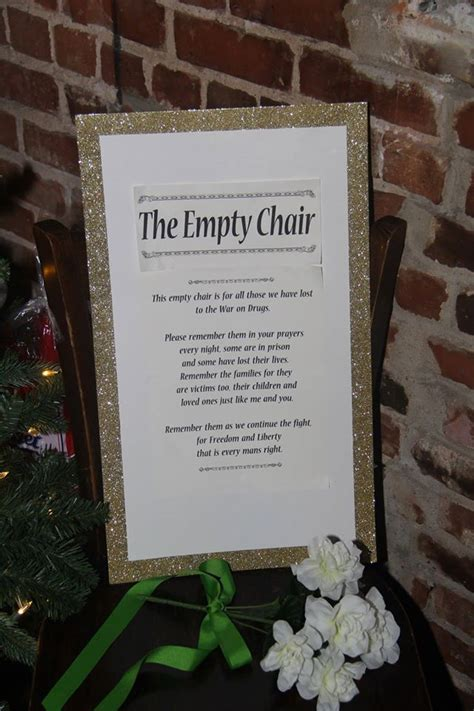 peachtree norml joins  empty chair campaign