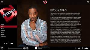 Rappers here is why it is important to have an electronic for Dj press kit template free