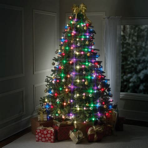 light christmas tree tree dazzler easy led tree lights