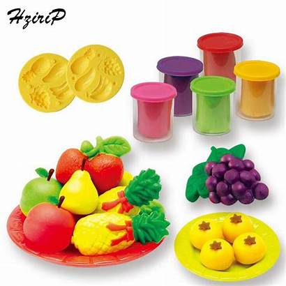 Clay Modeling Toy Fruit Play Children Sets