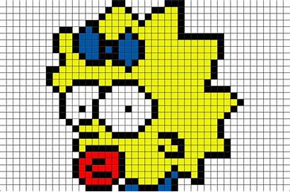 Pixel Maggie Template