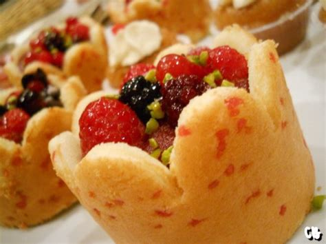 canape noel dessert de noël aux fruits et baba au