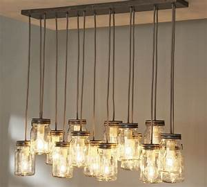 Simple rustic kitchen lighting ideas with hanging from