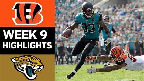 bengals  jaguars nfl week  game highlights youtube