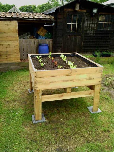 raised vegetable planter potager sureleve pallet ideas
