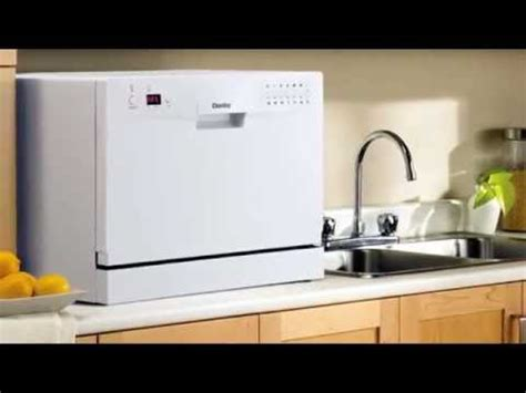 dishwasher with countertop danby countertop portable dishwasher