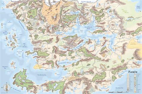 map   faerun
