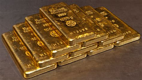 buying gold bars chemical elements