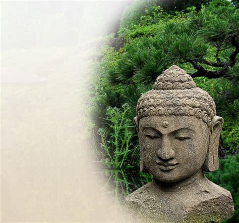 buddha kopf für garten buddha kopf aus stein