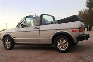 Sell Used 1984 Volkswagen Rabbit Cabriolet Base