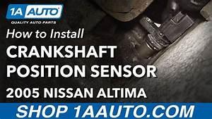 How To Replace Crankshaft Position Sensor 02