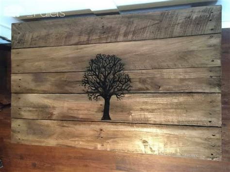 Fall Tree Pallet Coffee Table ? 1001 Pallets