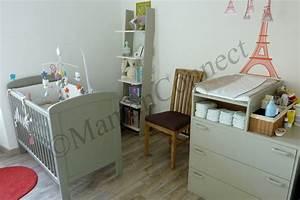 Chambre De Bébé : la chambre de b b maman connect ~ Teatrodelosmanantiales.com Idées de Décoration