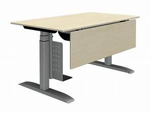 Pc Halterung Schreibtisch : h henverstellbarer schreibtisch 140 x 80 jourtym b rom bel ~ Orissabook.com Haus und Dekorationen