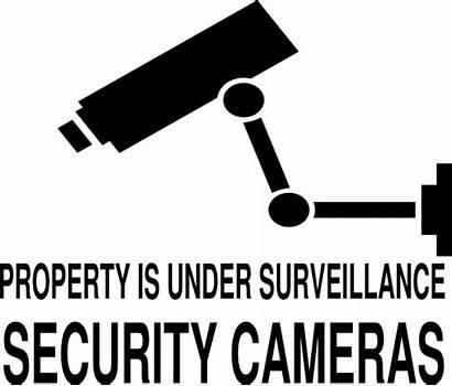 Surveillance Under Clipart Cameras Clip Property Cliparts