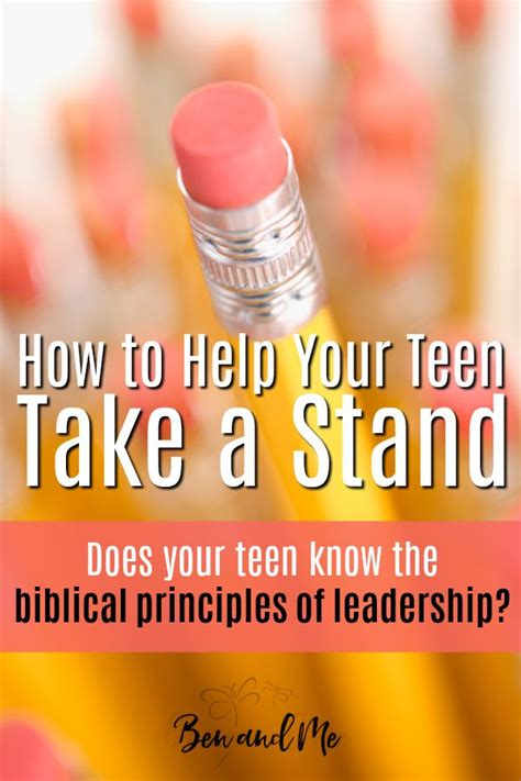 practical leadership principles  teens leadership