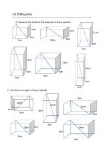 worksheets on quadrilaterals the pythagorean theorem worksheet answers abitlikethis