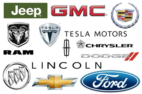 American Car Brands, Companies And Manufacturers