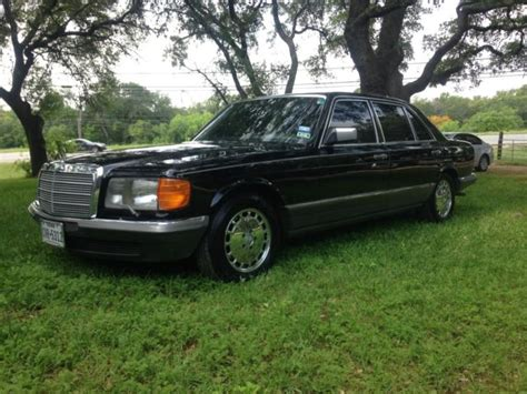 We analyze millions of used cars daily. 1984 Mercedes Benz 500SEL Executive Sedan