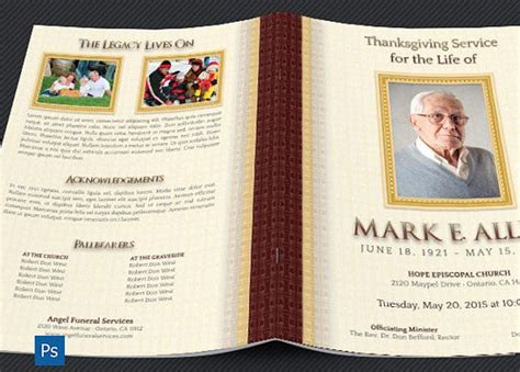 free funeral program template photoshop 417 best images about best creative funeral program templates for photoshop on