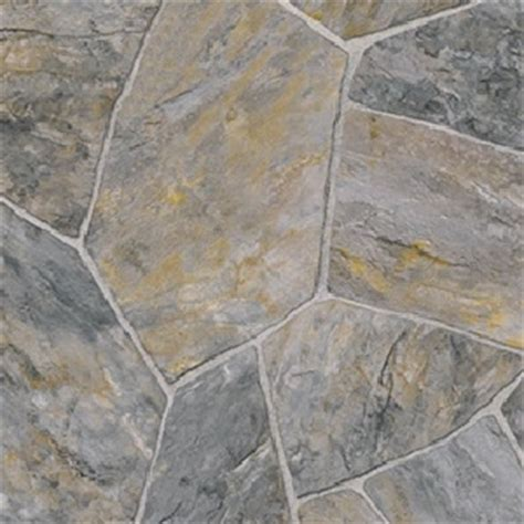 Colonial Flagstone   Tarkett Vinyl Floors   Vinyl   Charcoal