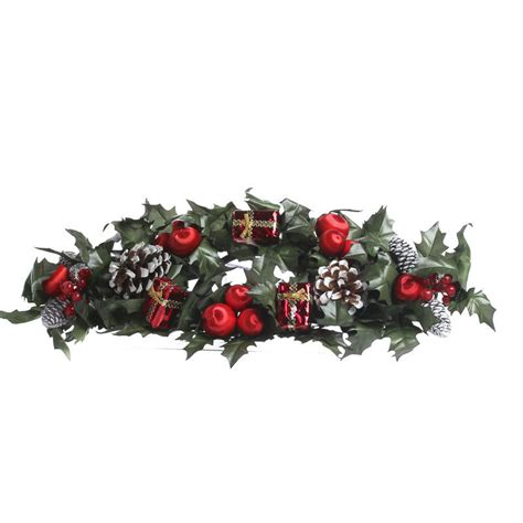 christmas candle ring candles  accessories home decor