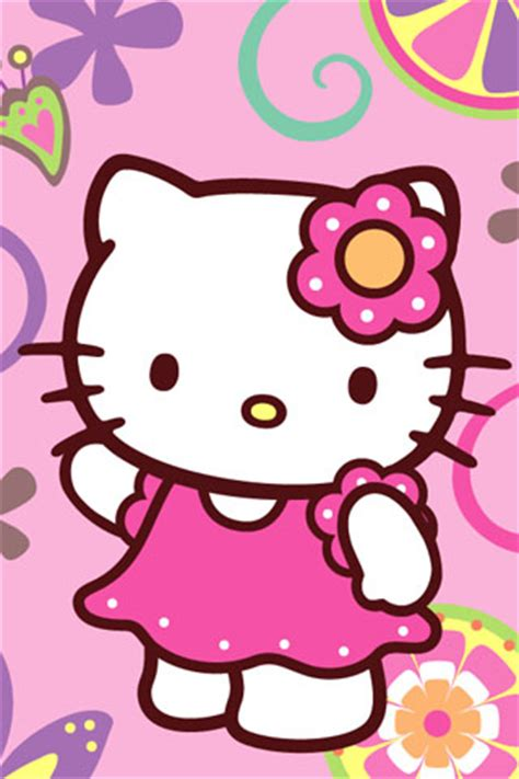 Cute Hello Kitty Coloring Page  Pinko Fashion And Life Style